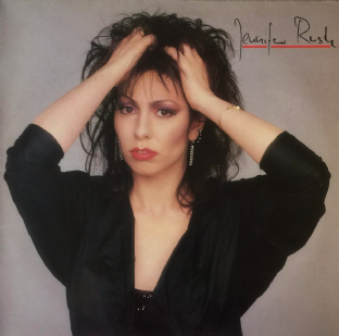 Jennifer Rush - Jennifer Rush (LP) (EX/EX-)